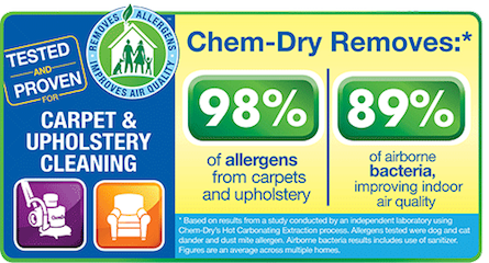 Chem-Dry of NW Arkansas Removes Allergens
