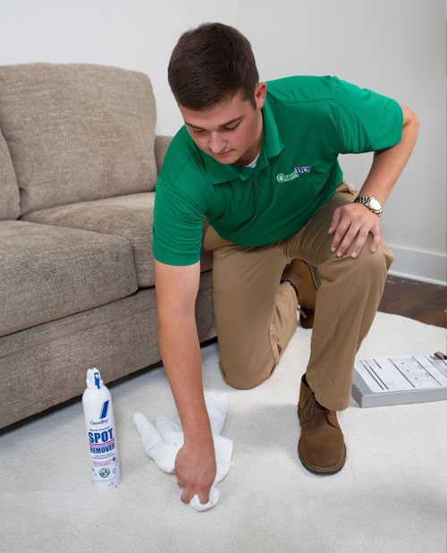 Specialty Stain Removal Service by Chem-Dry of NW Arkansas in Fayetteville AR