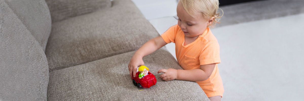 Upholstery Cleaning Services by Chem-Dry of NW Arkansas in Fayetteville AR Are Safe for Kids