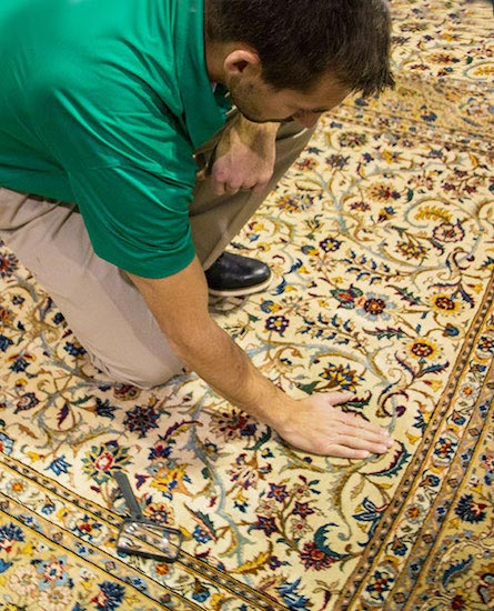 Professional Area and Oriental Rug Cleaning by Chem-Dry of NW Arkansas in Fayetteville AR